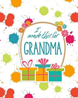 I Made This For Grandma: DIY Activity Booklet Keepsake
