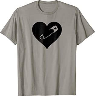 Love Trumps Hate Anti-Racism Safety Pin Movement T-Shirt