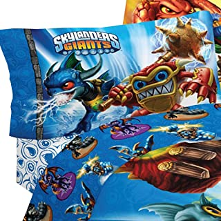 Skylanders Spyro Adventure Sky Friends 3pc Twin Bed Sheets
