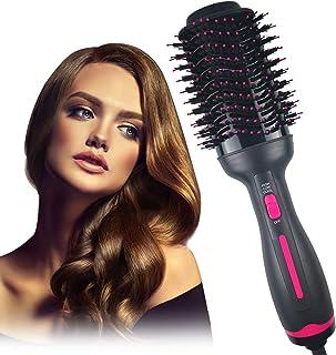 Dekugaa Hair Dryer Brush, Hot Air Brush, Hair Dryer & Volumizer 3 in 1 Upgrade Feature Anti-scald Negative Ion Hair Straightener Brush with Smooth Frizz and Ionic Technology