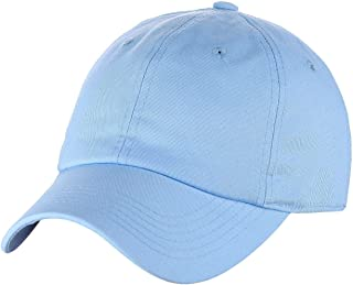 C.C Unisex Classic Blank Low Profile Cotton Unconstructed Baseball Cap Dad Hat