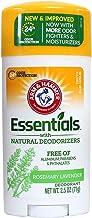 ARM & HAMMER Essentials Natural Deodorant Fresh 2.50 oz (Pack of 5)