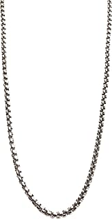 قلادة من الذهب الأبيض عيار 14 قيراط للنساء والرجال مجوهرات قوية مطلية بالصلب مع مشبك على شكل سرطان البحر (22.00)