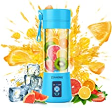 Portable Blender,Zjj-Home Smoothie Blender-Six Blades in 3D, Mini Travel Personal Blender..