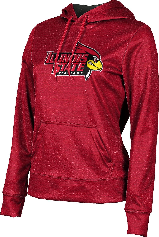 ProSphere Illinois State University Girls' Pullover Hoodie, School Spirit Sweatshirt (Heather)