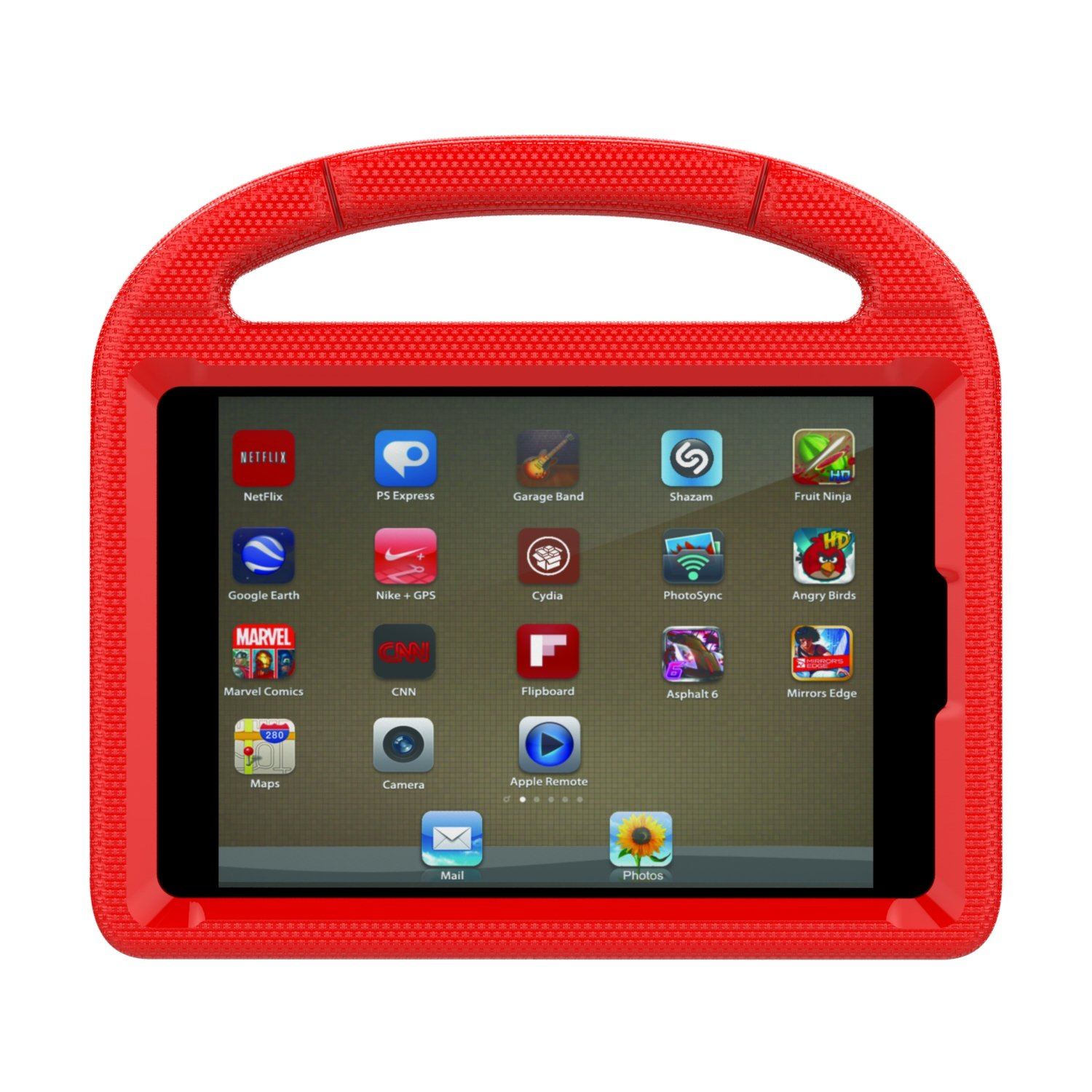 애플 아이패드 6세대 97인치 키즈용 ThreeJ 경량 포터블 스탠드 커버 - 6 컬러 iPad 97 Case, iPad 97 Covers for Kids - ThreeJ Light Weight Portable Shockproof Super Protection Handle Stand Cover