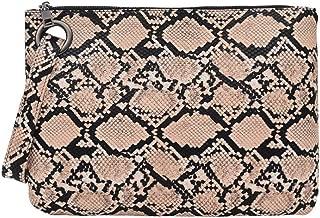 ZLMBAGUS Women Evening Handbag Clutch Purse Faux Leather Snakeskin Pattern Clutch Wallet Bag