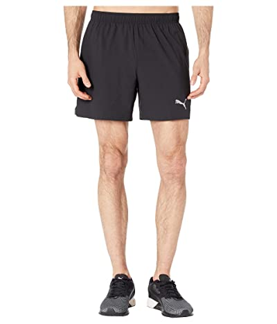 PUMA Ignite Session 5 Shorts (Puma Black/Castlerock) Men