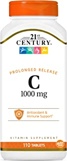 21st Century C 1000 mg Prolonged Release Tablets 110 Count