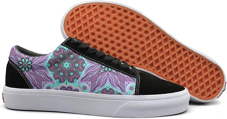 KSOWE3KD Womens' Mens Rubber Canvas shoes Oriental Motif Vintage goldfish Pattern Black Designer Unisex Athletic shoes