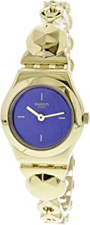Swatch Women's Goldig YSG153G Gold Stainless-Steel Quartz Dress Watch