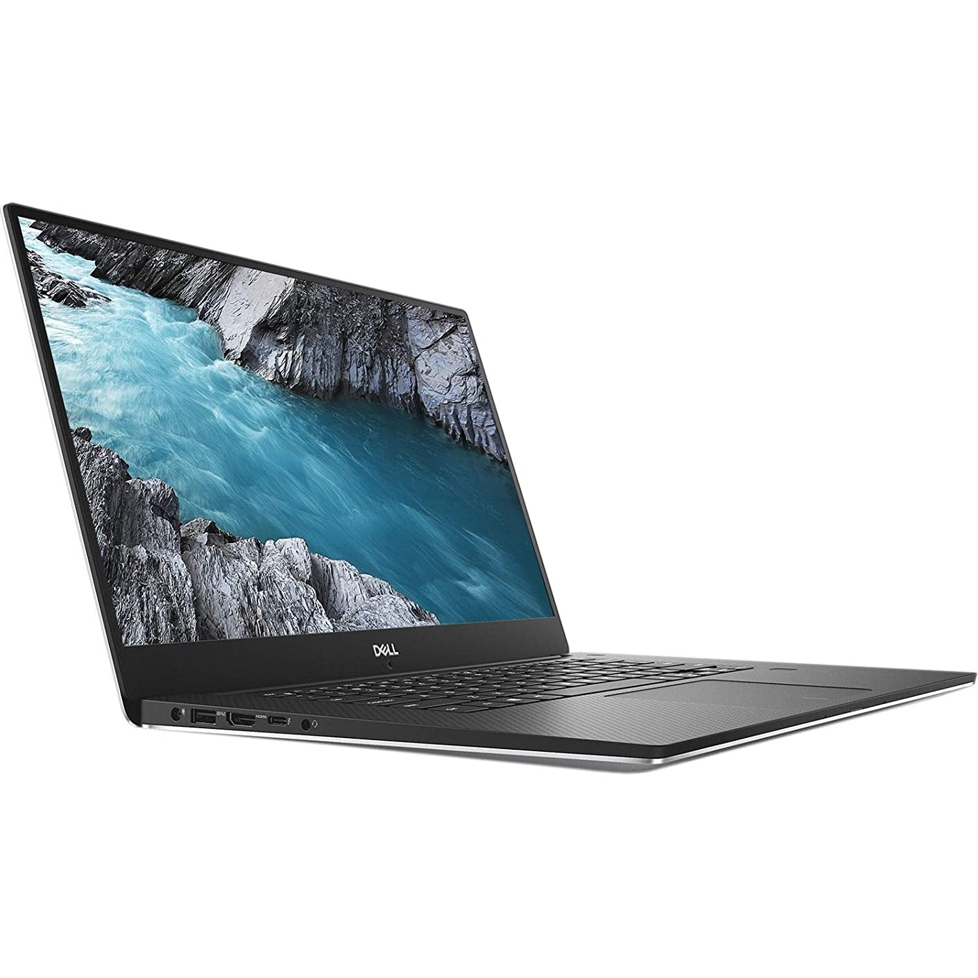 Dell XPS 15-9570 Intel Core i7-8750H X6 2.2GHz 16GB 256GB SSD 15.6in, Silver (Renewed)