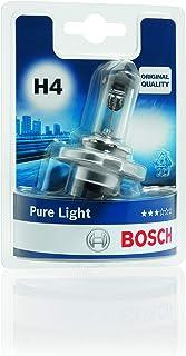Lámpara Bosch para faros: Pure Light H4 12V 60/ 55W P43t (Lámpara x1)