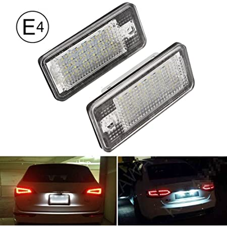 Kennzeichenbeleuchtung Led Passend Für Audi A3 8p A4 B6 B7 A5 Cabrio A6 4f Q7 Beleuchtung