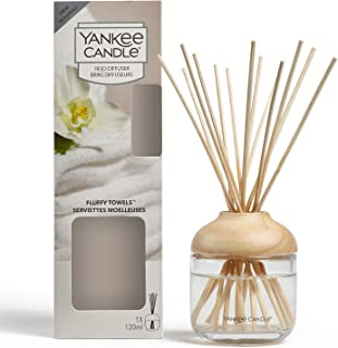 Yankee Candle Reed Diffuser | Fluffy Towels | 120 ml | Up to 10 Weeks of Fragrance