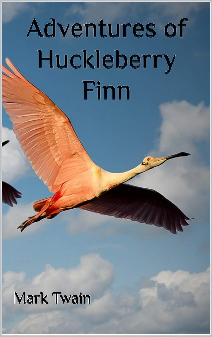 海港修正する埋めるAdventures of Huckleberry Finn (English Edition)