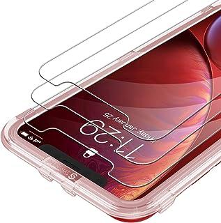 Syncwire Skärmskydd för iPhone 11 /iPhone XR Anti-Fingeravtryck Härdat Glas 3D Touch-Stöd 9H Hårdhet Installationsram Bubb...