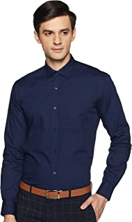 Park Avenue Men's Plain Regular fit Formal Shirt