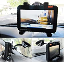 Ramtech Car Vehicle Truck Adjustable Windshield Suction Mount Holder Bracket Stand Suitable for 7-inch GPS Magellan RoadMate 1700-LM / 9020T-LM / 9055-LM GPS (WMB7)