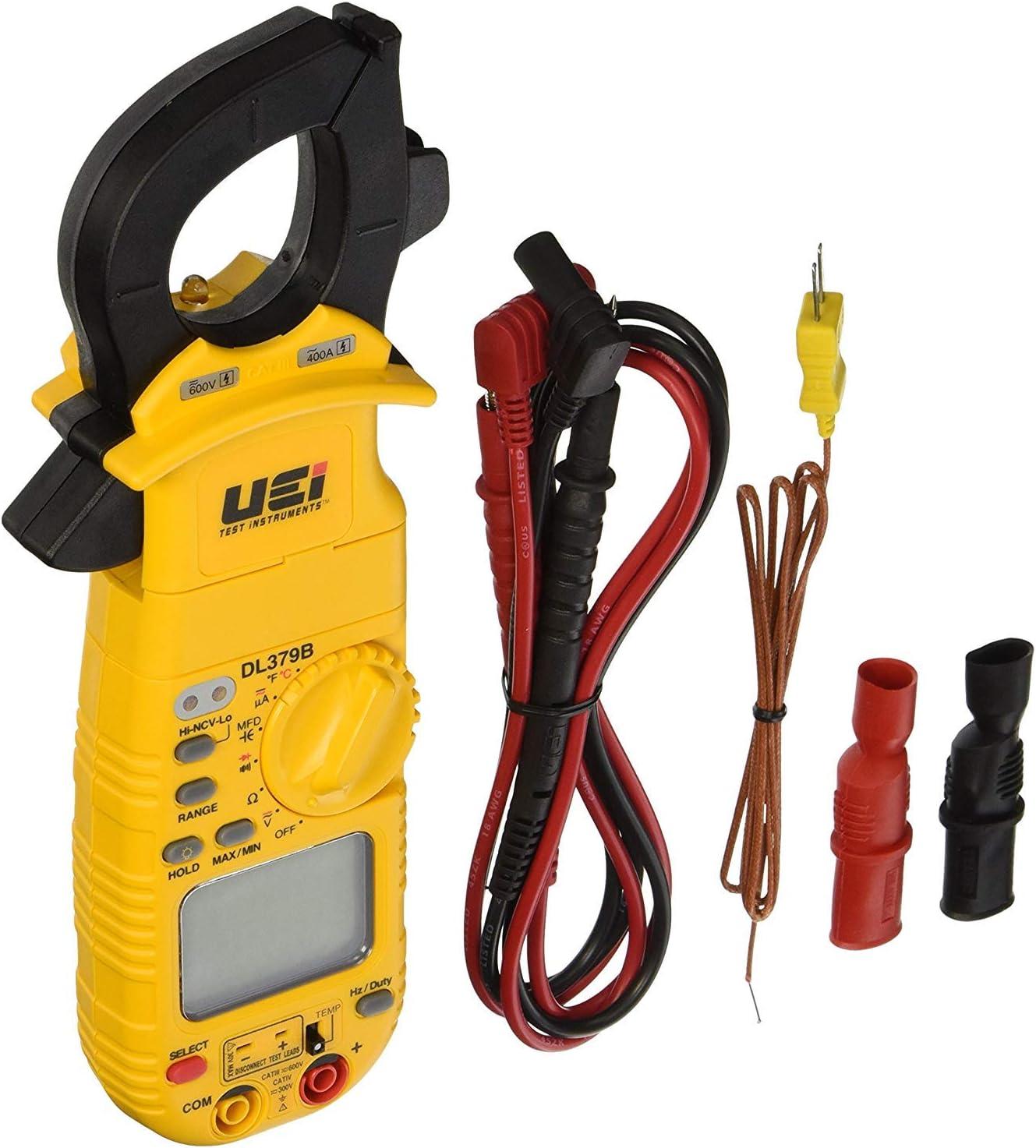 UEi Test Instruments DL379B Digital HVAC Clamp Meter Pack of 1