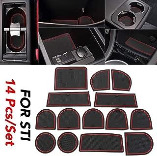 JessicaAlba for Subaru STI 2015 2016 2017 2018 2019 2020 Custom Fit Cup and Door Center Console Liner Accessories
