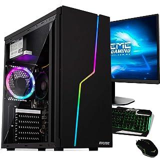 Xtreme Pc Gamer Amd Radeon Vega 8 Ryzen 3 8Gb 240Gb Monitor