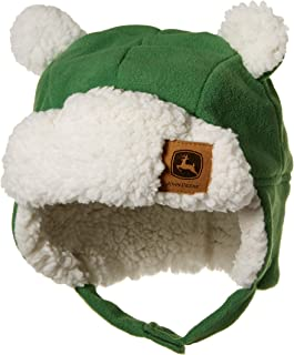 John Deere Boys Winter Cap Cold Weather Hat Toddler Green