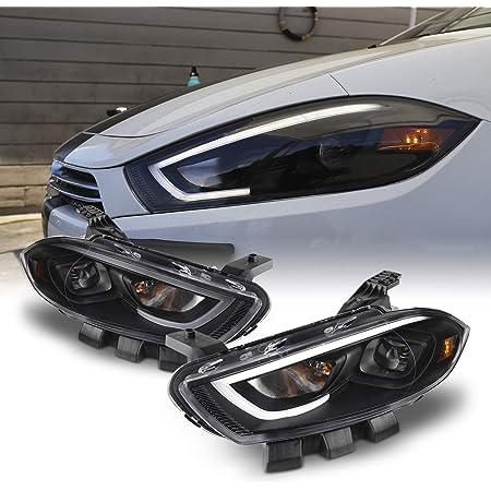 dodge dart xenon lights Amazon.com: Fits 1-1 Dodge Dart Projector Headlights LED