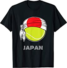 Japan Mens Tennis Top for Japanese Players, Fans or Coach T-Shirt