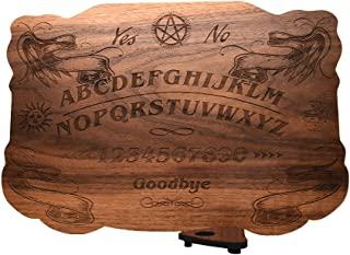 Ouija Board in Walnut, 13.5 x 9.5 in 1/4 Thick- All Natural, Plain Wood - Customizable