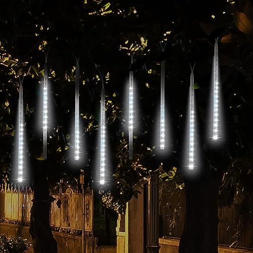 Led Christmas Icicle Lights Amazon Com