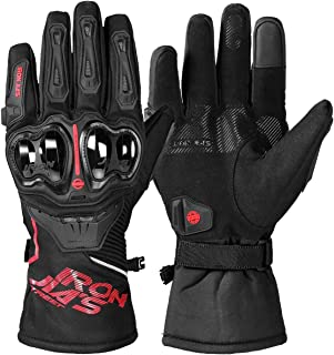 armored riding gloves