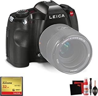 Leica ?S (Typ 006) Medium Format DSLR Camera (Body Only) with Memory Card and Cleaning Kit Bundle