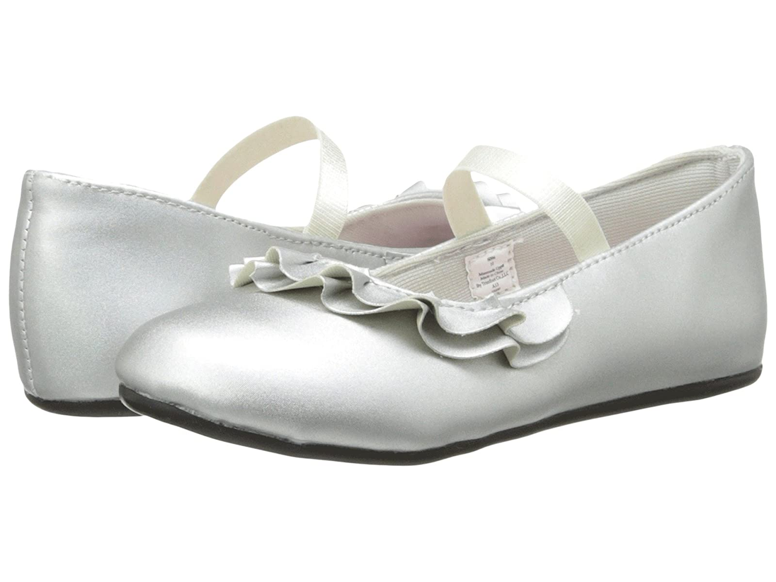 Baby Deer Ruffle Skimmer Mary Jane (Infant/Toddler)Atmospheric grades have affordable shoes