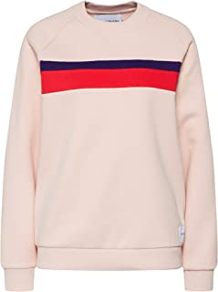 Calvin Klein sweatshirt for women in Rose Gold, Size:Medium