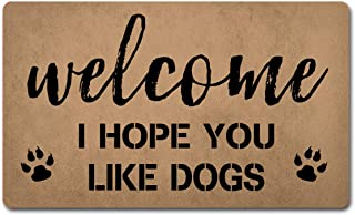 Funny Welcome Mats Anti-Slip Door Mats for Entrance Way Indoor Mat/Rubber Mat/Personality Rugs Kitchen Rugs and Mats 18