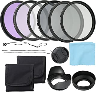 Andoer Professional Camera UV CPL FLD Lens Filters Kit and Altura Photo ND Neutral Density Filter Set Photography Accessor...