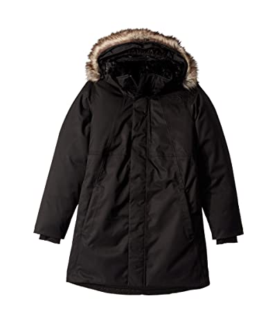The North Face Kids Arctic Swirl Down Jacket (Little Kids/Big Kids) (TNF Black/TNF Black/TNF Black) Girl