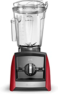 Vitamix A2500 Ascent Series Smart Blender, Professional-Grade, 64 oz. Low-Profile Container, Red