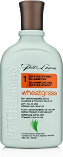 Sponsored Ad - Peter Lamas Detoxifying Wheatgrass Shampoo   Ultra Deep Cleaning Anti-Residue Shampoo, Gentle Non-Irritatin...