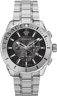 Versace - Reloj cronógrafo casual para hombre