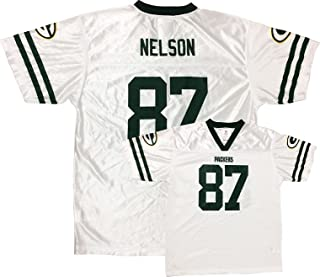 Jordy Nelson Green Bay Packers Youth White Away Player Jersey