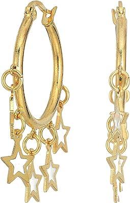 SHASHI - Star Multi Hoops Earrings