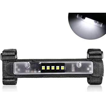 DJI 4X4 Universal Roll Bar Mount for LED Light Utility Interior Courtesy Work Light Ultra Slim Wraparound Roll Bar Light for Jeeps, Truck, ATV, UTV, Off road, Pickup