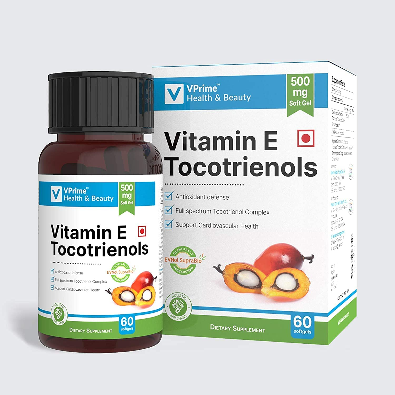Max 47% OFF Carlos VPrime Health Beauty Vitamin High order 60 Gel E Tocotrienols Soft