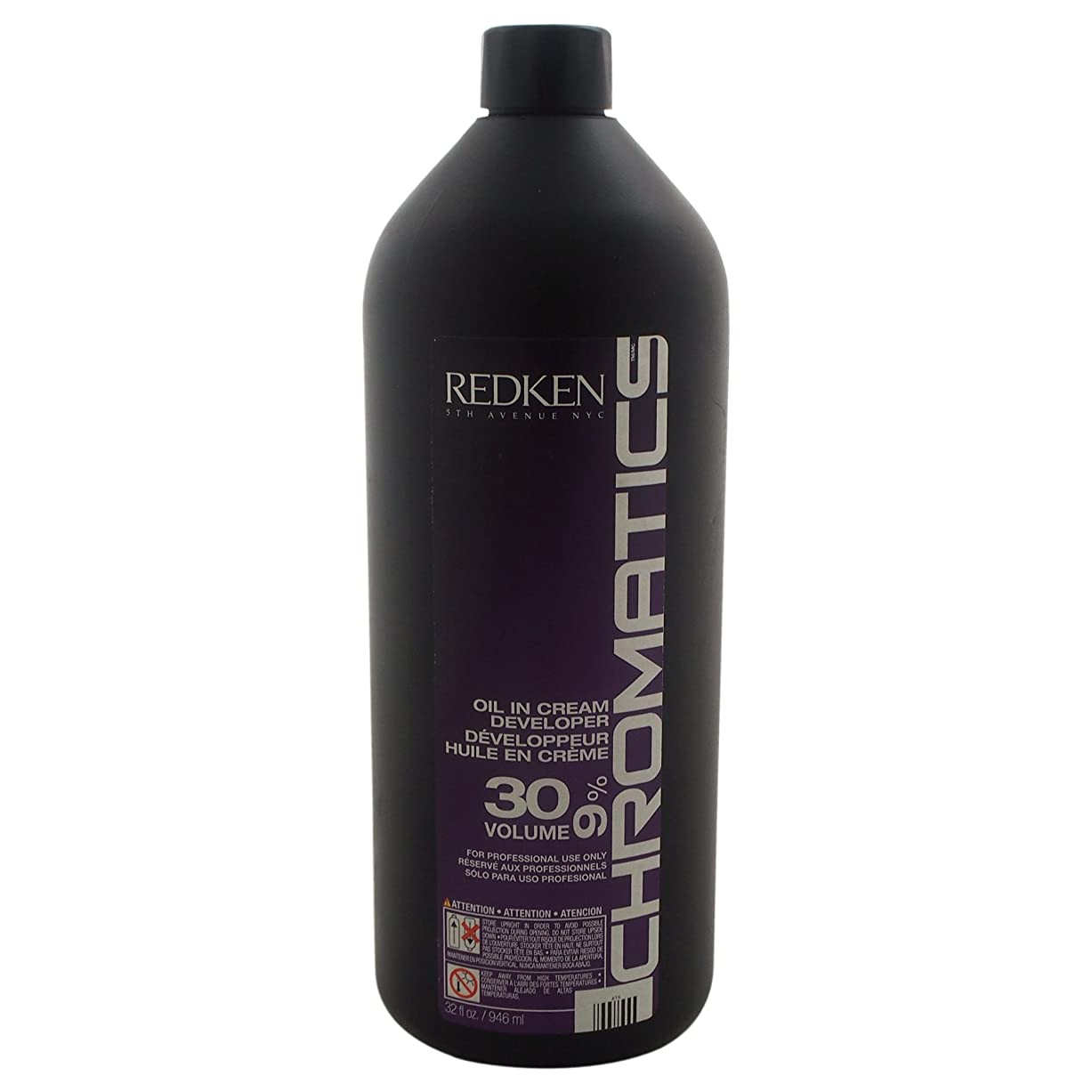 配送雪の急流Redken Chromatics Oil In Cream Developer 30 Volume 9 Percent Cream, 32 Ounce by Redken