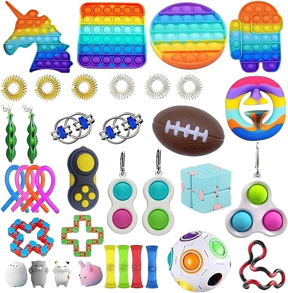 Fidget Toy Set Von Dekompressionssensorikspielzeug für Kinder oder Erwachsene Fidget Toy