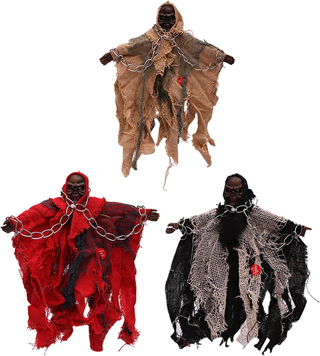 Halloween Decoration Pendants 3 Chain Pieces of Rare Iron Luxury goods