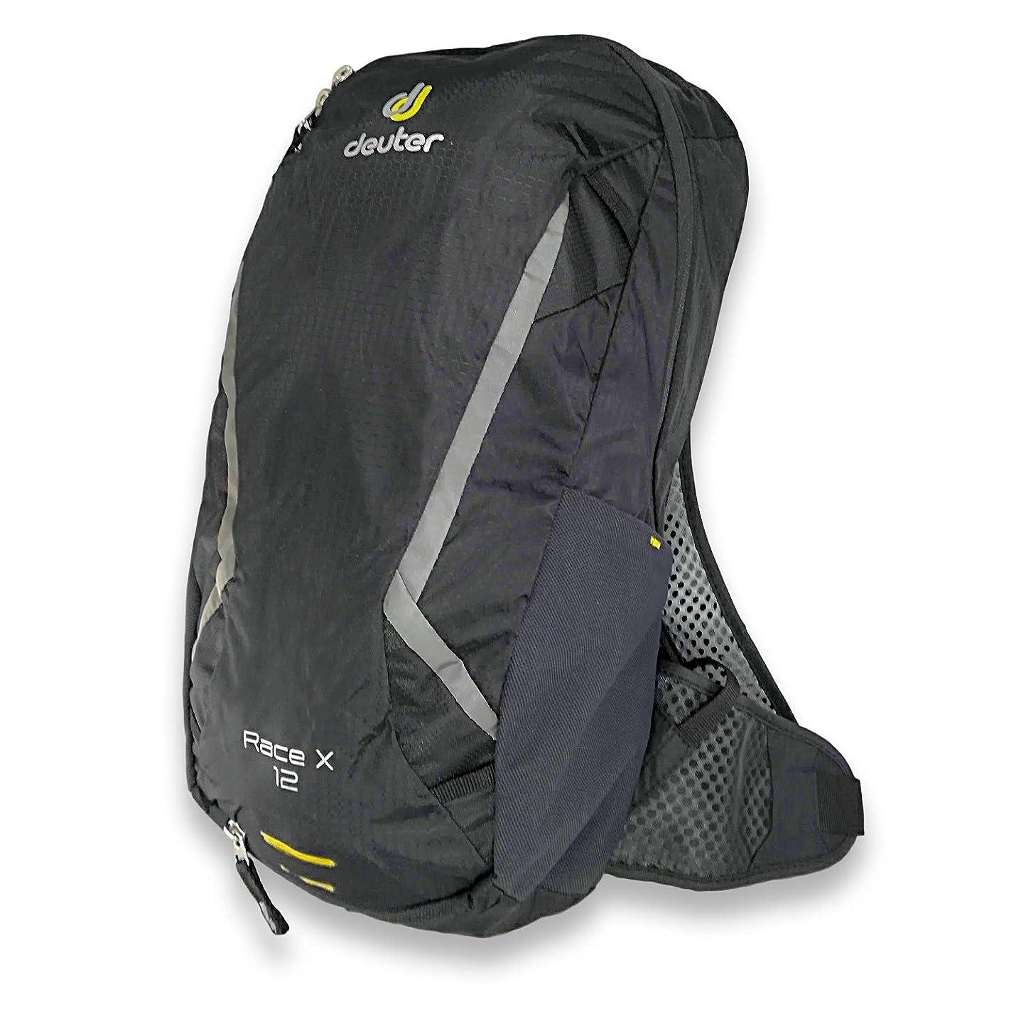 断線ショルダーのヒープDeuter (ドイター) Race X (12,0 L) レースX Bike Backpack ブラック バックパック 自転車 リュック [並行輸入品]