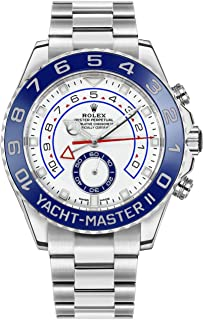 New Rolex Yacht-Master II White Dial Oystersteel Mens Luxury Watch 116680